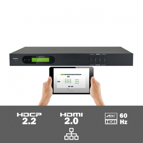 MUH44A-H2 4x4 HDMI 2.0 matrix switcher