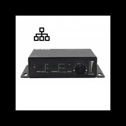 PA250 - Compacte 50W versterker met 1x mic en 3x line ingang