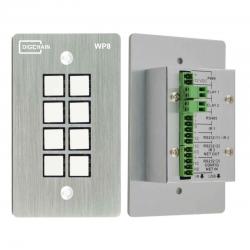 WP8 - RS232 bedieningspaneel met 8 knoppen