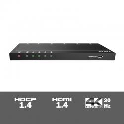 SUH4 - 4-voudige 4K HDMI splitter