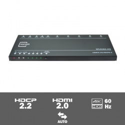 WUH4A-H2 - 4-voudige 4K HDMI 2.0 switcher