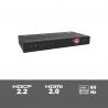 SUH4E-H2 - 4-voudige 4K HDMI 2.0 splitter met HDCP killer