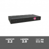 SUH4E-H2 - 4-way 4K HDMI 2.0 splitter including HDCP killer