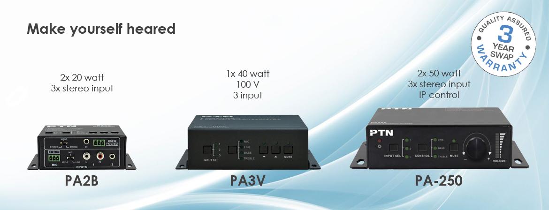 PTN Electronics audio processor product line
