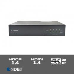 SUH4T - 4-voudige 4K HDBaseT splitter