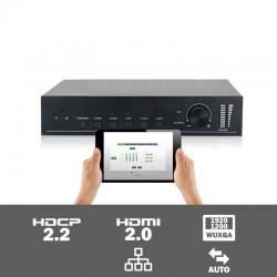 SC51S - 5 input seamless scaler met HDBaseT