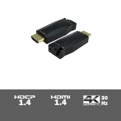 FOUH303 - 4K Fiber Optic HDMI extender set