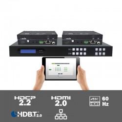 MUH44T-H2 4x4 HDMI 2.0 HDBaseT matrix switcher