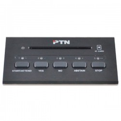PTN D-3302D - Inbouw discussiepost stemsysteem
