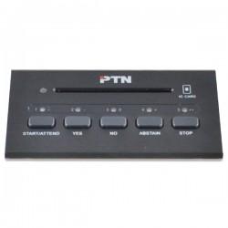 PTN D-3302C - Inbouw discussiepost stemsysteem voorzitter