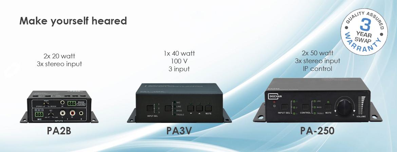Digichain Electronics audio processor product line